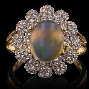 Jewelry - Opal ring appraised at